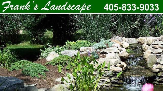 Oklahoma City Ok Landscaping Nursery Franks Landscape